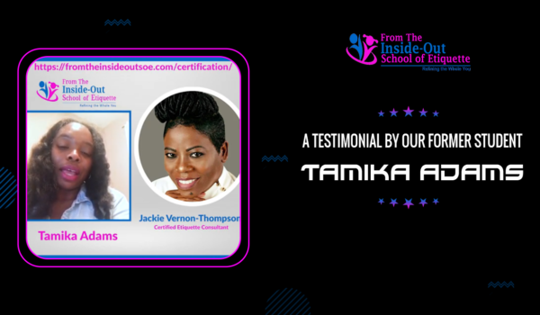 A testimonial by our former student, Tamika Adams